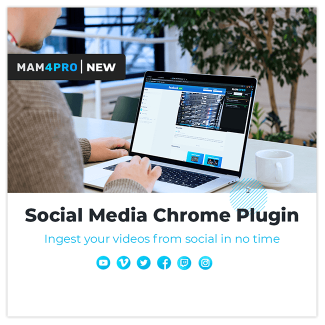 Social Media Chrome Plugin highlights